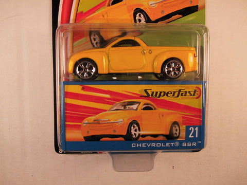 Matchbox Superfast 2004, #21 Chevrolet SSR