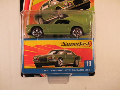 Matchbox Superfast 2004, #19 1971 Chevrolet Camaro Z28