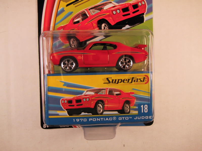 Matchbox Superfast 2004, #18 1970 Pontiac GTO Judge