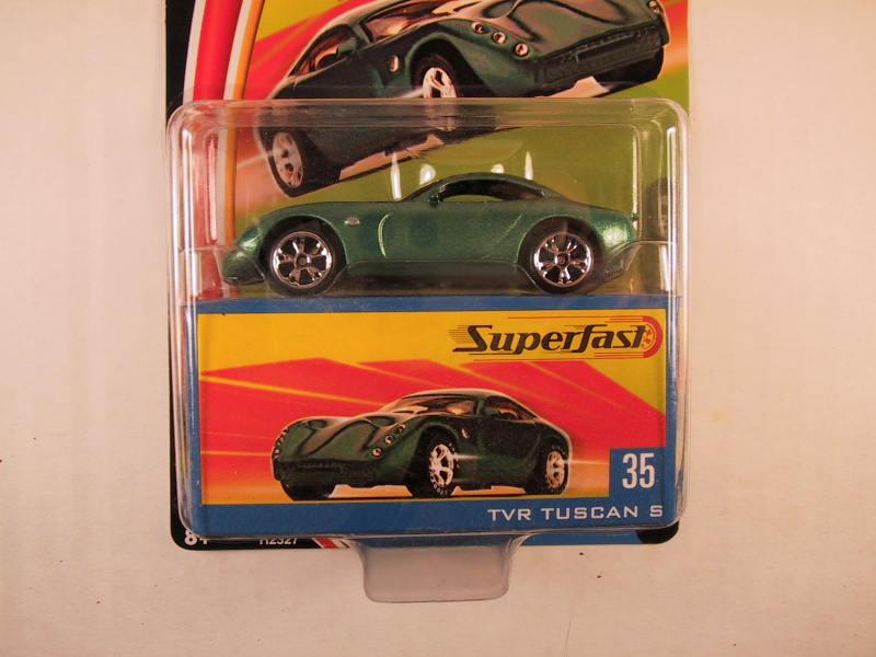 Matchbox Superfast 2004, #35 TVR Tuscan S