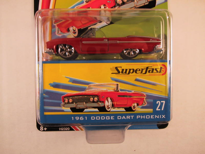Matchbox Superfast 2004, #27 1961 Dodge Dart Phoenix