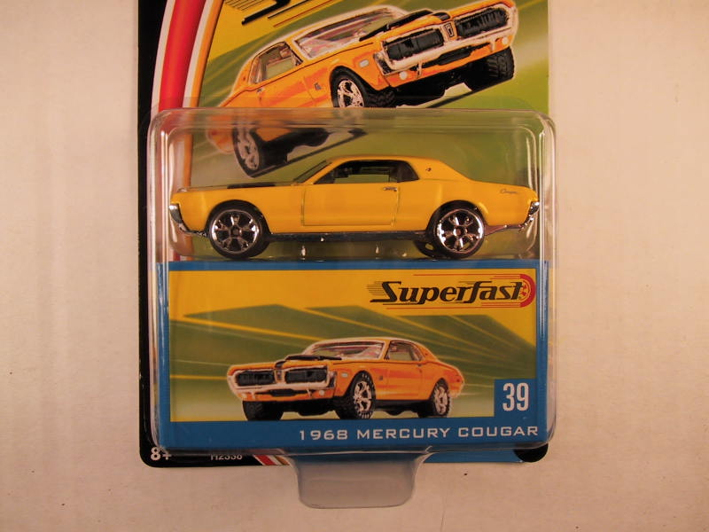 Matchbox Superfast 2004, #39 1968 Mercury Cougar