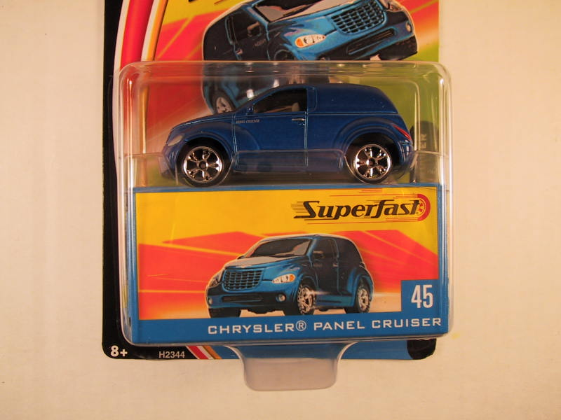 Matchbox Superfast 2004, #45 Chrysler Panel Cruiser