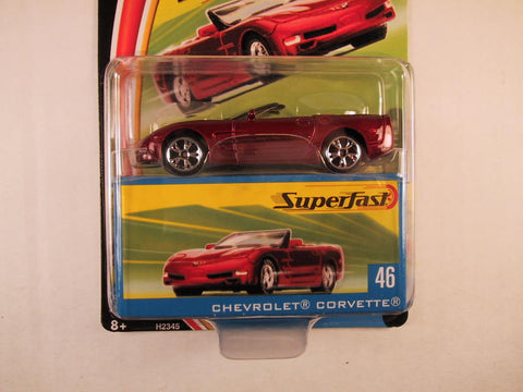 Matchbox Superfast 2004, #46 Chevrolet Corvette