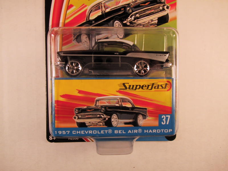 Matchbox Superfast 2004, #37 1957 Chevrolet Bel Air Hardtop