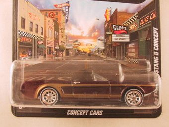 Hot Wheels Boulevard '63 Ford Mustang II Concept