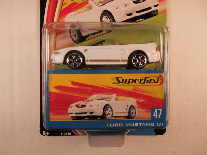 Matchbox Superfast 2004, #47 Ford Mustang GT