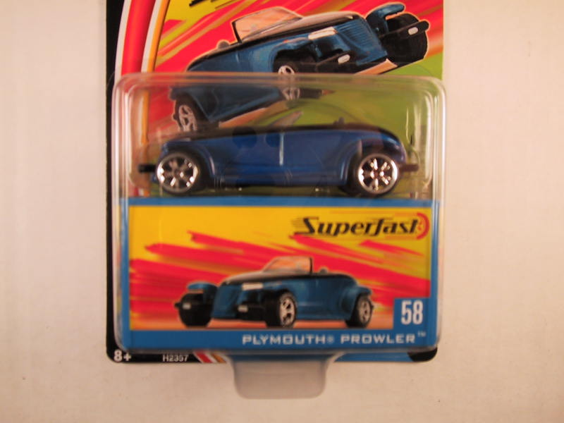 Matchbox Superfast 2004, #58 Plymouth Prowler