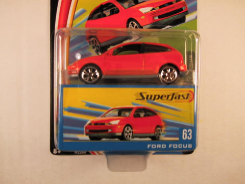 Matchbox Superfast 2004, #63 Ford Focus