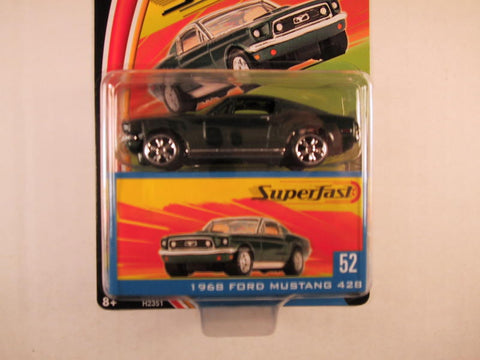 Matchbox Superfast 2004, #52 1968 Ford Mustang 428