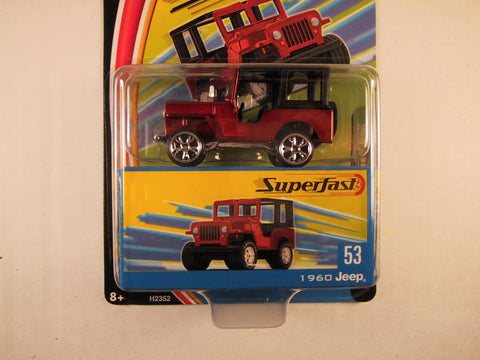 Matchbox Superfast 2004, #53 1960 Jeep