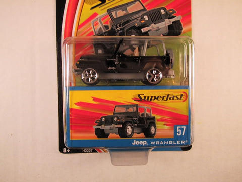 Matchbox Superfast 2004, #57 Jeep Wrangler