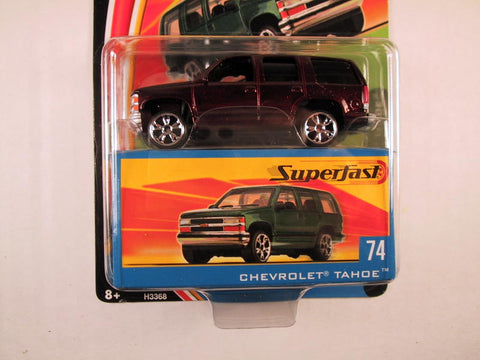 Matchbox Superfast 2004, #74 Chevrolet Tahoe