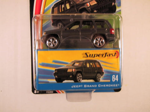 Matchbox Superfast 2004, #64 Jeep Grand Cherokee