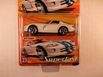 Matchbox Superfast 2005 USA, #23 Dodge Viper GTS
