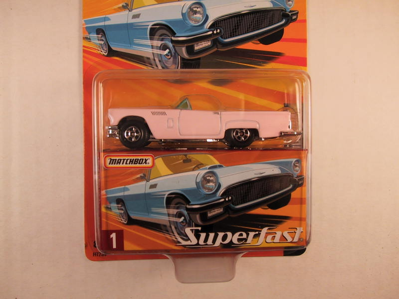 Matchbox Superfast 2005 USA, #01 1957 Ford Thunderbird