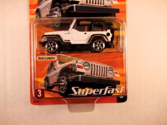Matchbox Superfast 2005 USA, #03 Jeep Wrangler