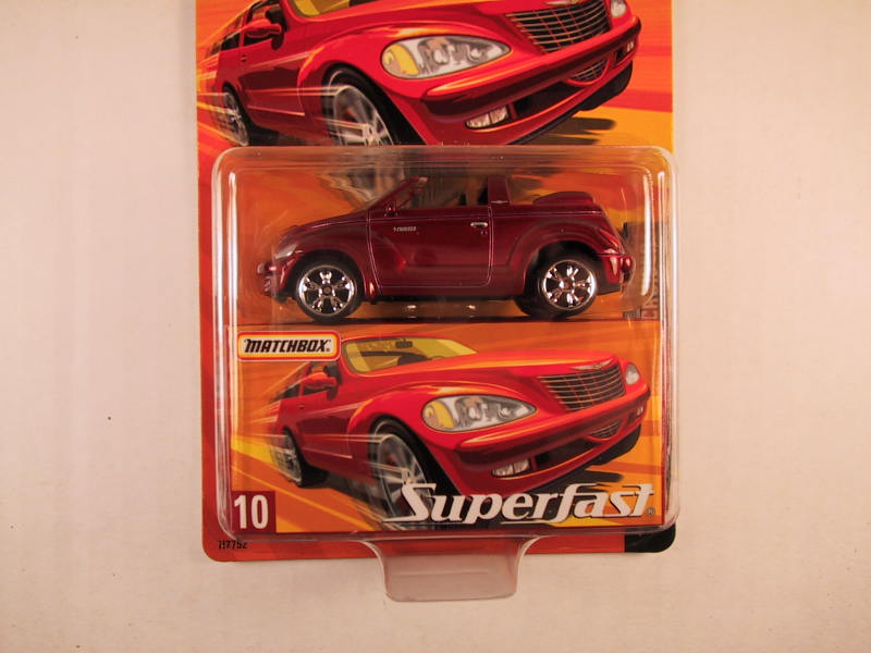 Matchbox Superfast 2005 USA, #10 Chrysler PT Cruiser