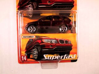 Matchbox Superfast 2005 USA, #14 BMW X5