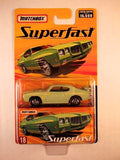 Matchbox Superfast 2005 USA, #18 1970 Pontiac GTO