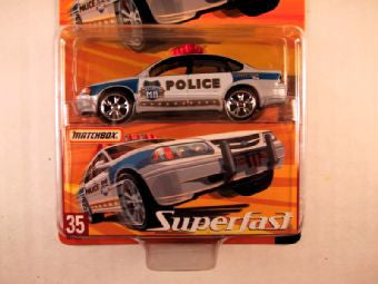 Matchbox Superfast 2005 USA, #35 Chevy Impala