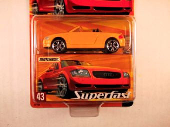Matchbox Superfast 2005 USA, #43 Audi TT Roadster