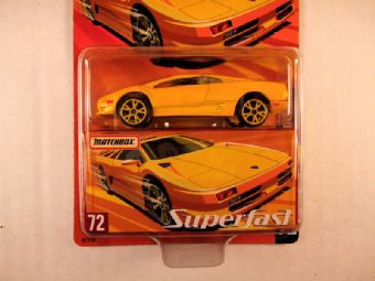 Matchbox Superfast 2005 USA, #72 Lamborghini Diablo