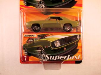 Matchbox Superfast 2005 USA, #07 1969 Chevrolet Camaro