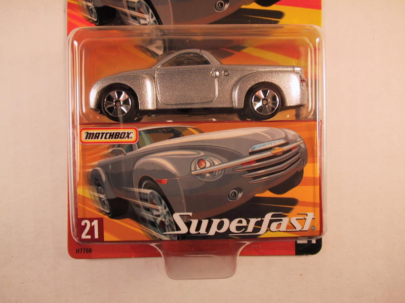 Matchbox Superfast 2005 USA, #21 Chevrolet SSR