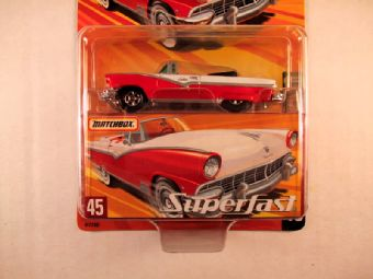 Matchbox Superfast 2005 USA, #45 1956 Ford Sunliner