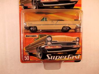 Matchbox Superfast 2005 USA, #50 1957 Lincoln Premiere