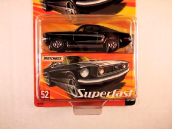 Matchbox Superfast 2005 USA, #52 Ford Mustang 428