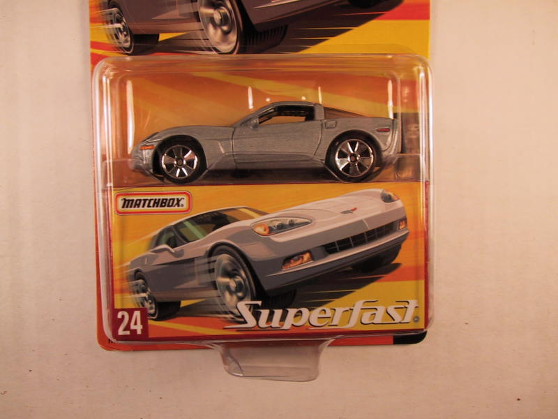 Matchbox Superfast 2005 USA, #24 Chevrolet Corvette C6