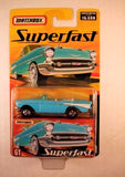 Matchbox Superfast 2005 USA, #61 1957 Chevy Bel Air