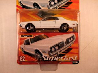 Matchbox Superfast 2005 USA, #62 1968 Mercury Cougar