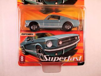 Matchbox Superfast 2005 USA, #08 1965 Mustang GT