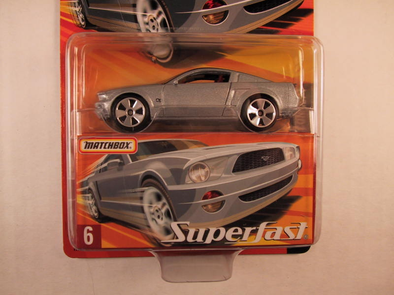 Matchbox Superfast 2005 USA, #06 Ford Mustang GT Concept