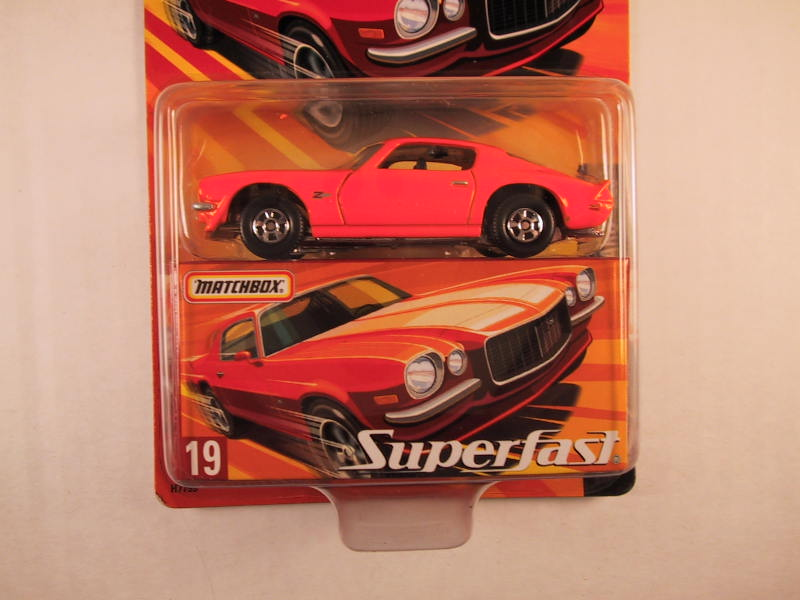 Matchbox Superfast 2005 USA, #19 Chevrolet Camaro Z28