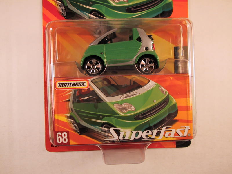 Matchbox Superfast 2005 USA, #68 Smart Fortwo Cabrio