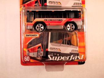 Matchbox Superfast 2005 USA, #60 City Bus