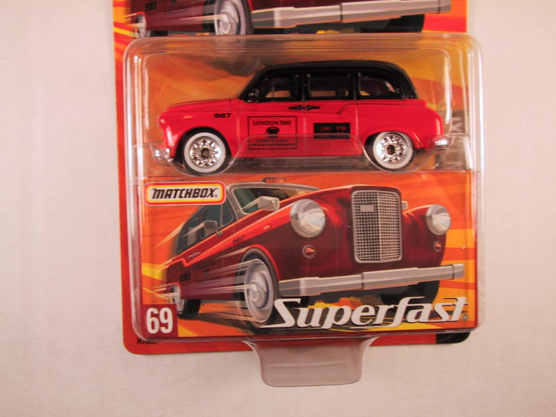 Matchbox Superfast 2005 USA, #69 London Taxi