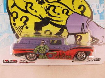 Hot Wheels Nostalgia, DC Comics 2012, 8 Crate Delivery, The Riddler