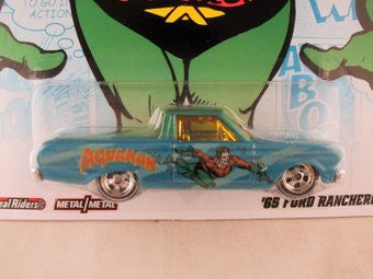 Hot Wheels Nostalgia, DC Comics 2012, '65 Ford Ranchero, Aquaman