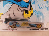 Hot Wheels Nostalgia, DC Comics 2012, '59 Cadillac Funny Car, Batgirl