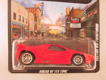 Hot Wheels Boulevard Vector W8 Twinturbo