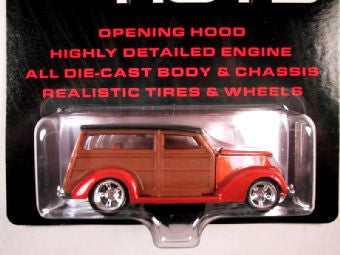 Hot Wheels Ultra Hots, '37 Ford Woody, Orange