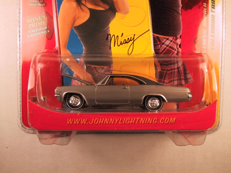 Johnny Lightning Calendar Cars, Missy's '65 Chevy Impala
