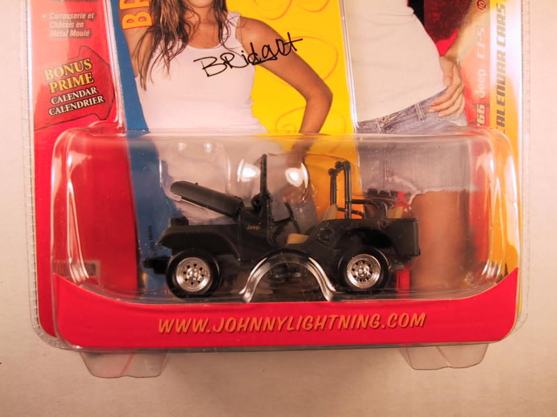 Johnny Lightning Calendar Cars, Bridget's '66 Jeep CJ-5