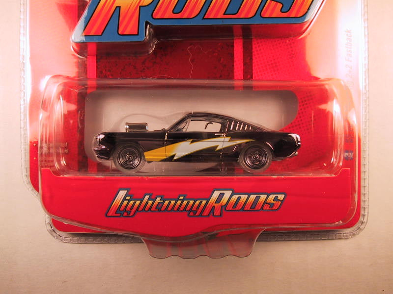 Johnny Lightning Lightning Rods, Release 1, '65 Mustang 2+2 Fastback