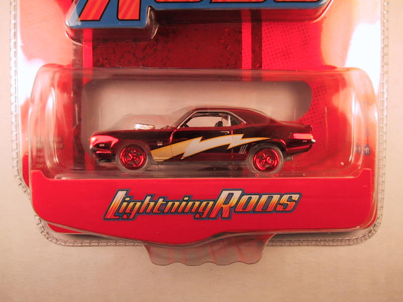 Johnny Lightning Lightning Rods, Release 1, '69 Chevy Camaro